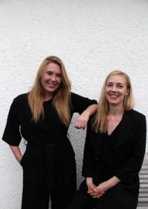 Lena Hammargren och Frida Ströberg
